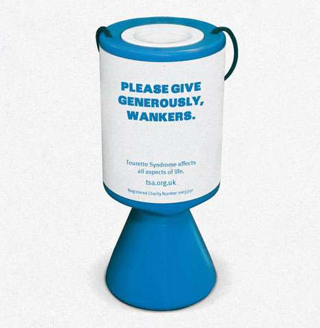 Offensive Charity Promotions