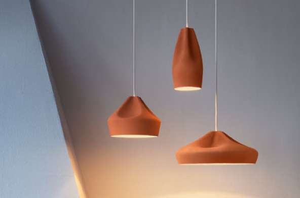 Perfectly Pinched Pendant Lamps