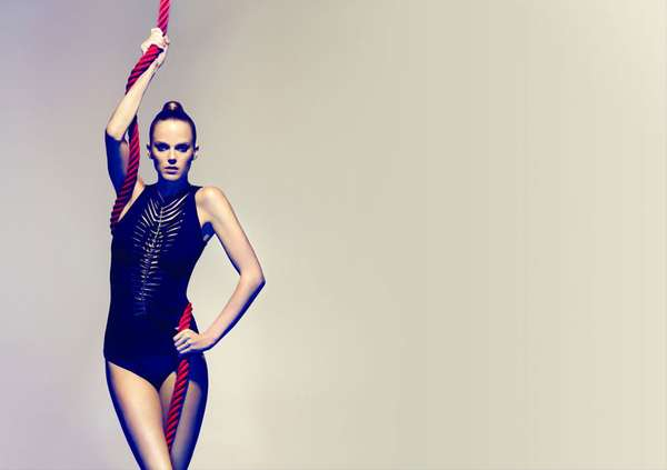 Daring Gymnast-Inspired Editorials