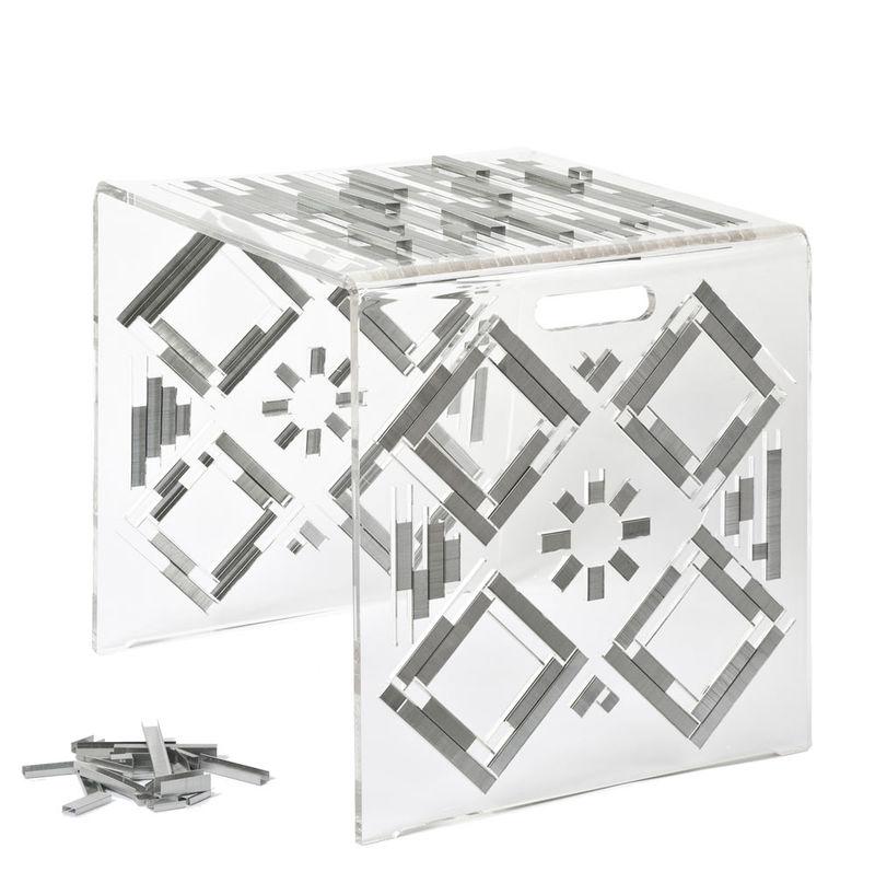 Stapled Plexiglass Stools