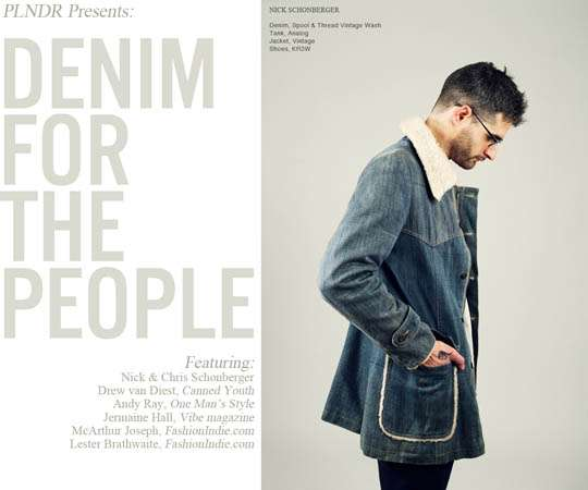 Dapper Denim Editorials