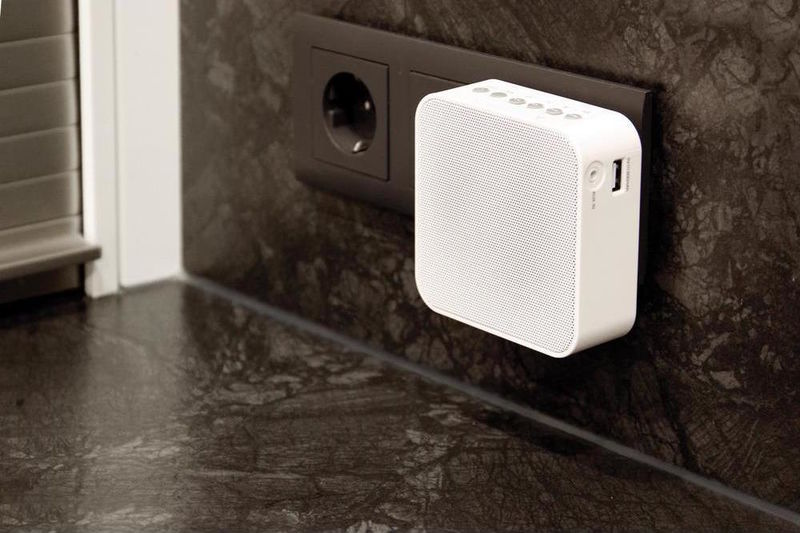 Discreet Outlet Speakers
