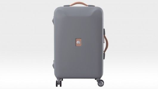 Fingerprint-Activated Luggage