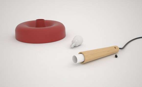 Plumber-Inspired Chandeliers