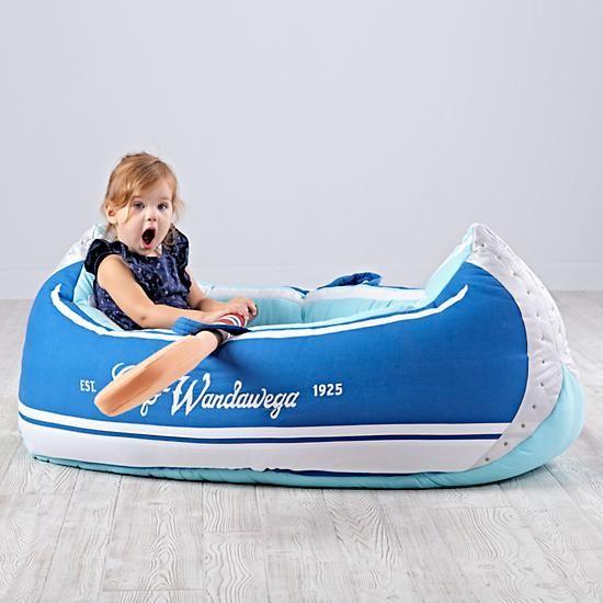 Plush Canoe Decor