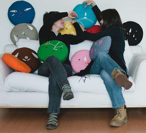 Playful Personality Pillows