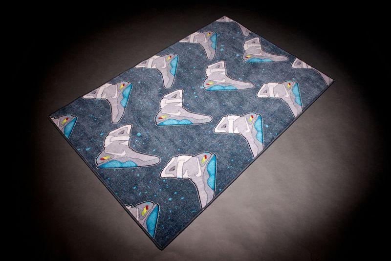 Futuristic Sneaker Rugs