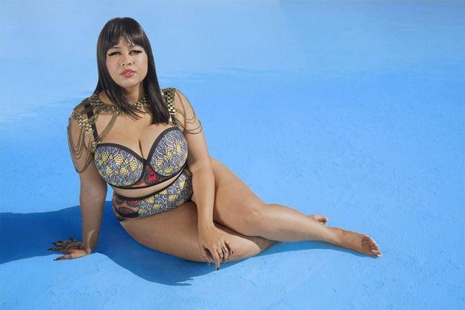Bold Plus-Size Bikinis