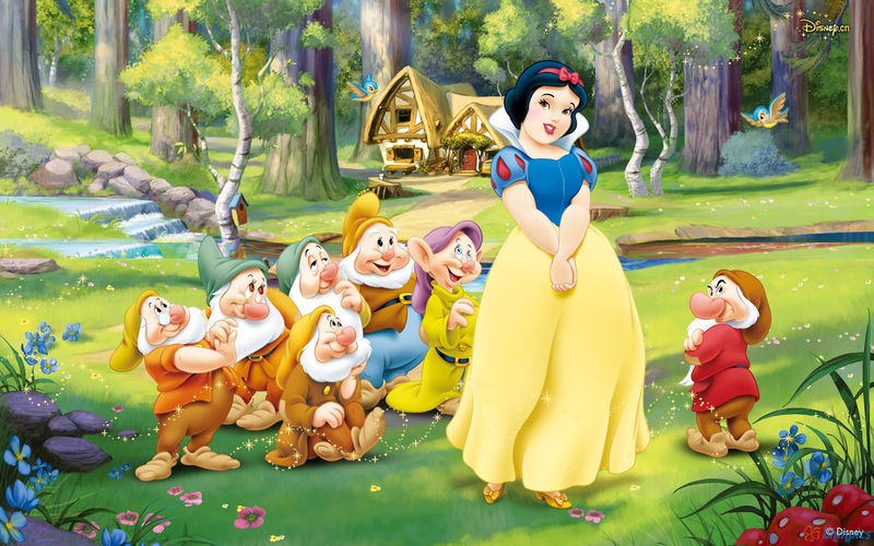Full-Figured Disney Princesses