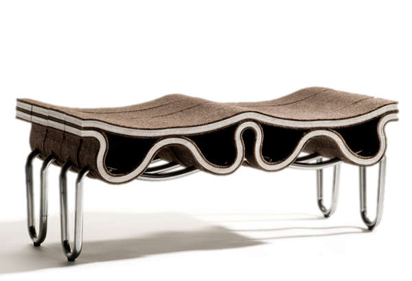 Ruched Industrial Seating