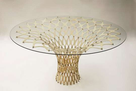 Webbed Plywood Furniture