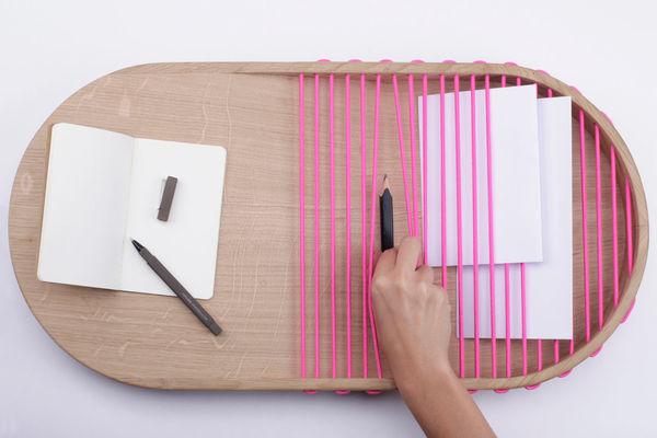 Minimalist Corded Trays
