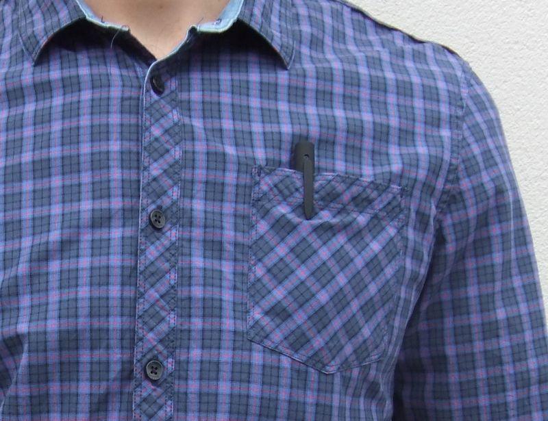 Discreet Shirt Pocket Cameras
