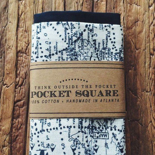 Typographic Traveler Handkerchiefs