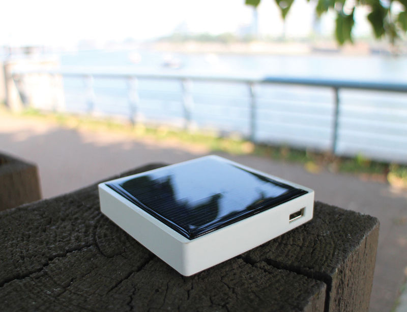 Solar-Powered Backup Batteries