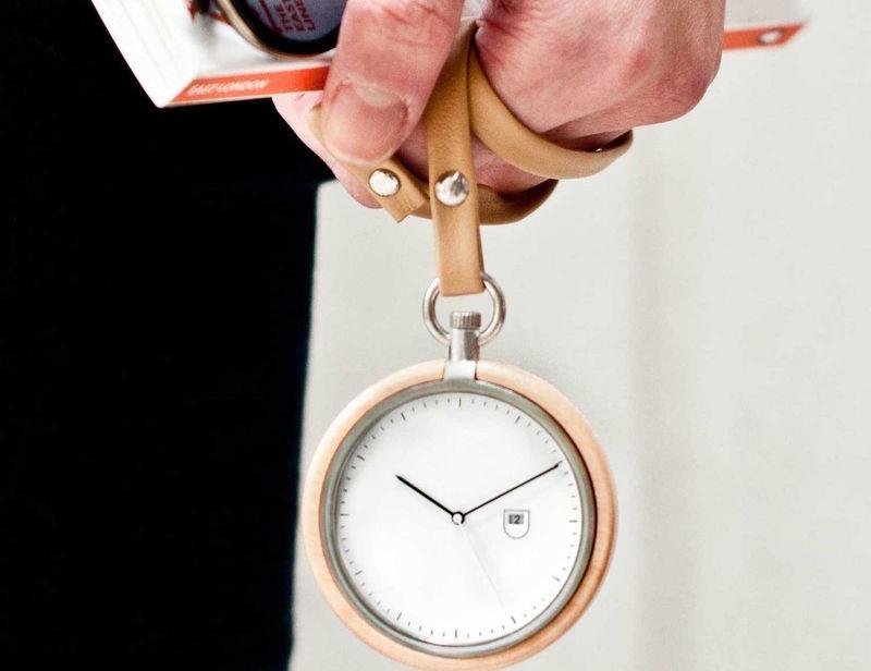 Premium Wooden Pocket Timepieces