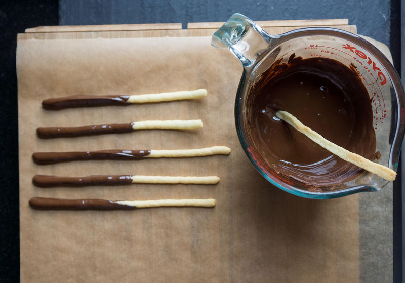 Homemade Japanese Biscuits : Pocky Recipe