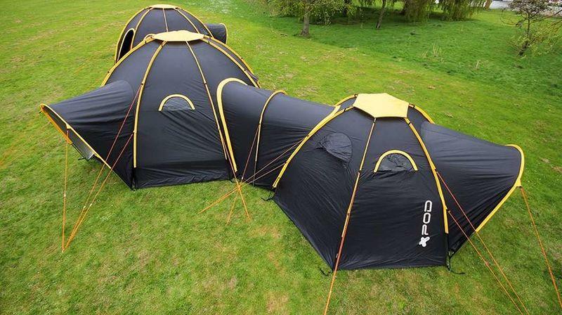 Connective Modular Tents