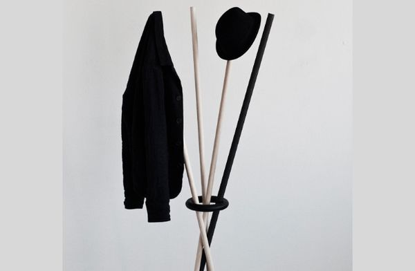 Surrealist Stick Coatracks