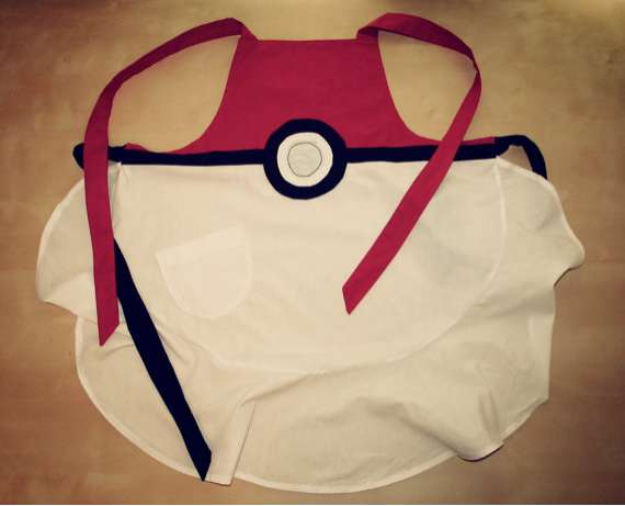 Pokeball Apron