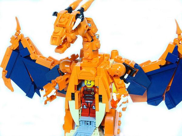 Building Block Mecha Monsters
