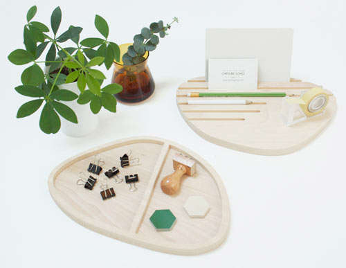 Puddle-Like Desk Organizers