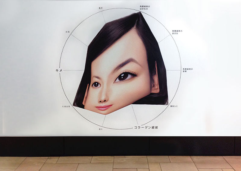 Distorted Beauty Billboards