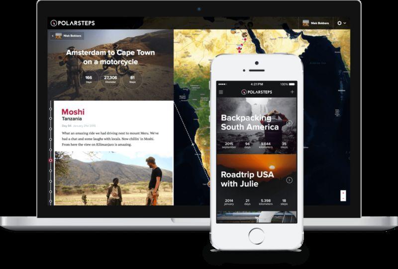 Mobile Travel Journal Apps