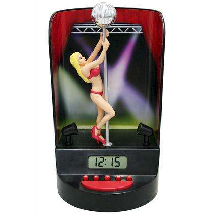 Pole Dancer Alarm Clocks