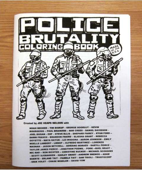 Colorful Cop Violence Books