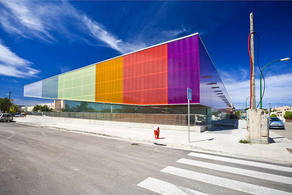 Chromatic Glass Athletic Facilities