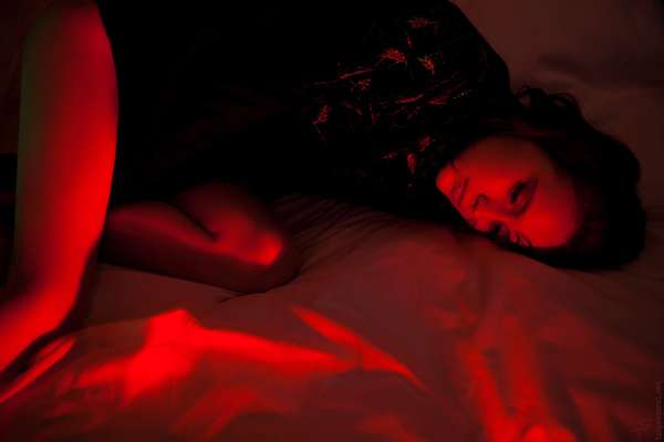 Racy Red Light Photography