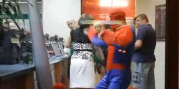 Polish Spiderman Wreaks Havoc