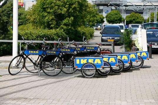 Ikea Rental Bikes