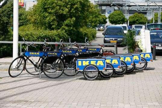 Ikea Rental Bikes