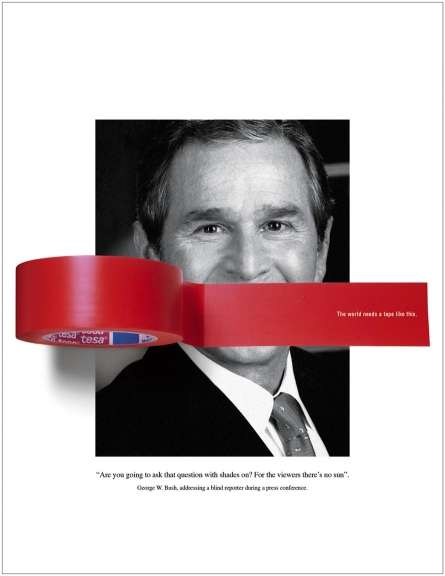 Political Tape Ad