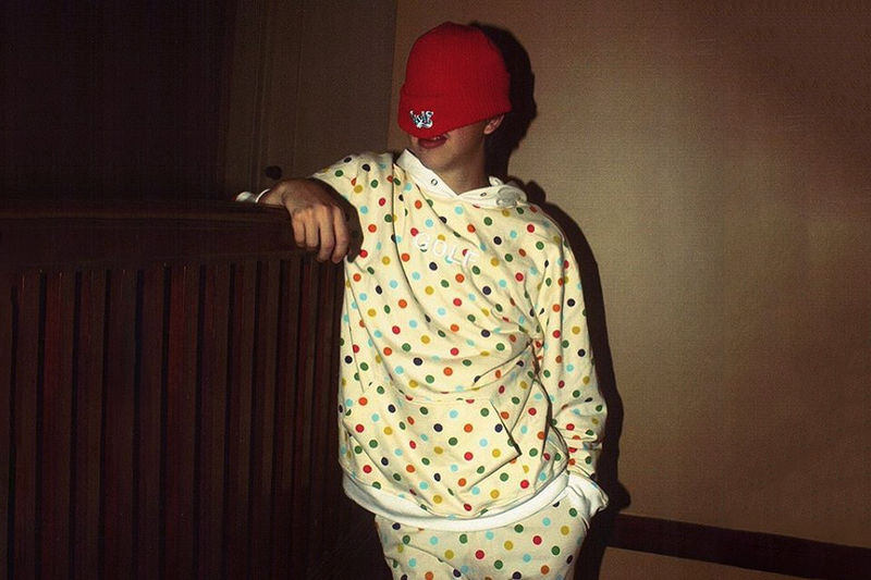 Rapper-Designed Polka Dot Apparel