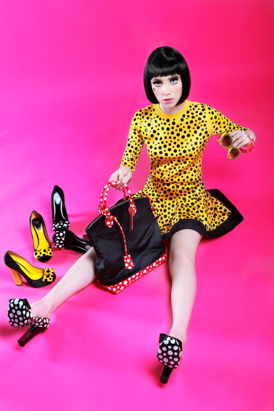 Eccentric Polka Dot Editorials