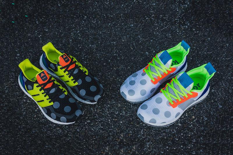 Vibrant Polka Dot Sneakers