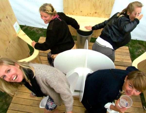 Social Female Porta-Potties