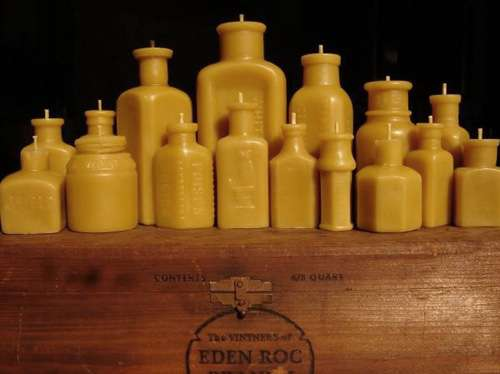 Honey Comb Candles