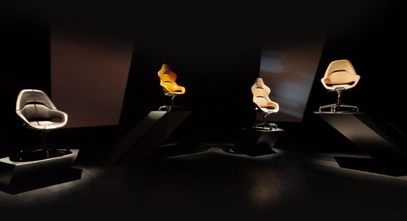 Sports car office chairs poltrona frau for Poltrone frau milano