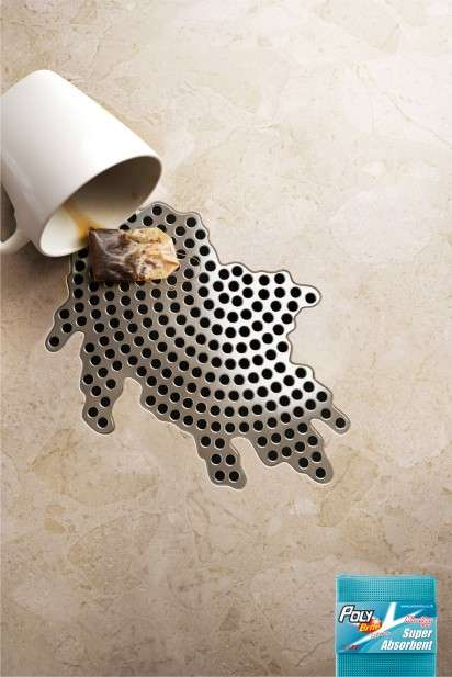 Spill-Shaped Drain Ads