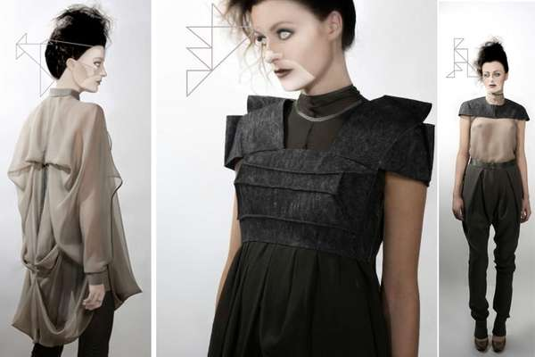 Geometric-Inspired Fashion
