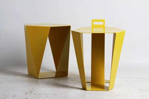 Handled Geometric Seating