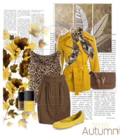 Polyvore and Yves Saint Laurent