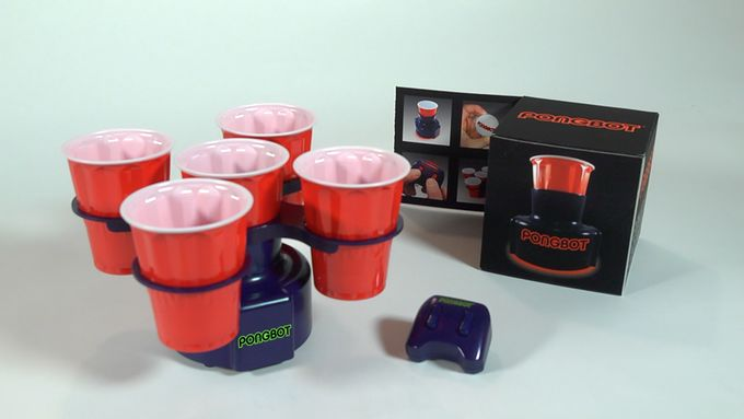 Robotic Beer Pong Toys