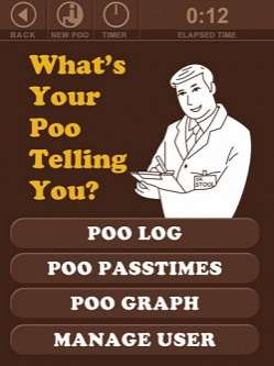 Poo Log iPhone App