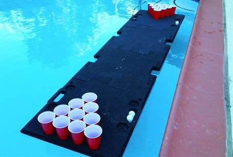 Portable Drinking Game Tables Pool Beer Pong