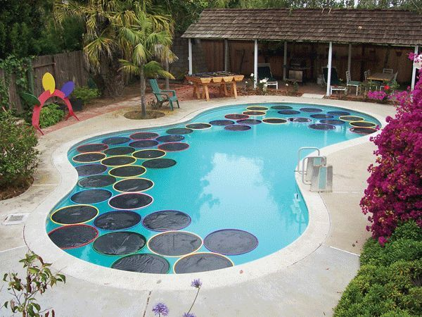 Solar Pool Pads